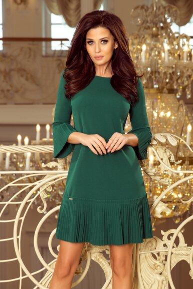 obleka-s-plise-detajli-zelena