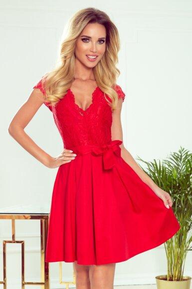 romantična-obleka-rdeča