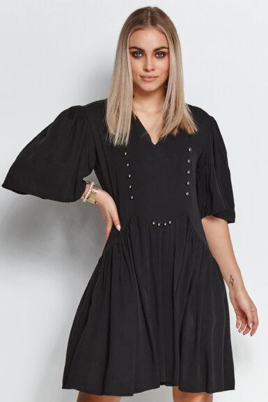 tunika-obleka-crna