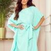 tunika-obleka-metulj-pastelno-mint-zelena