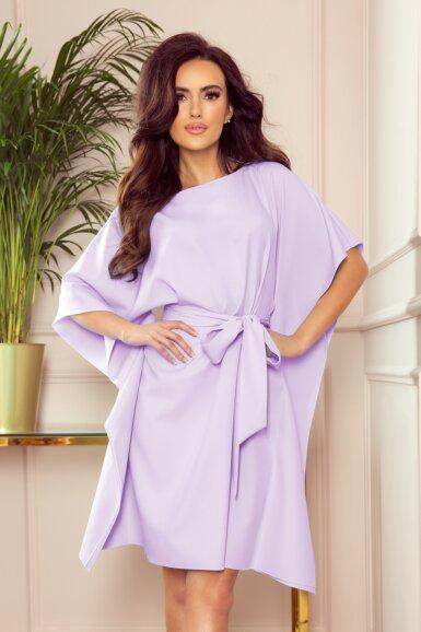 tunika-obleka-metulj-vijolicna