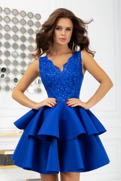 svecana-kratka-obleka-krinolina-parisko-modra