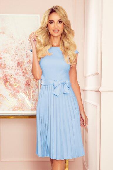 svetlo-modra-plise-obleka