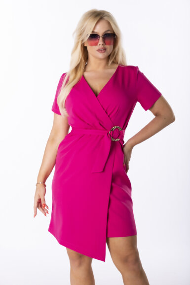 elegantna-obleka-z-asimetricnim-spodnjim-robom-pink