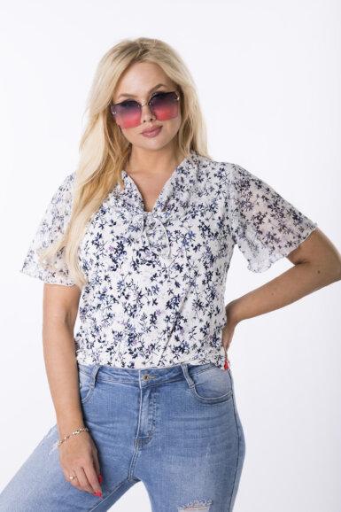 majica bluza z mini pentljo
