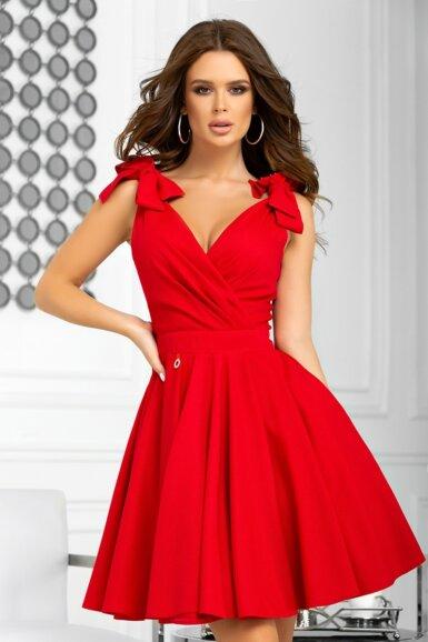 rdeca-obleka-za-birmo-valeto-poroko