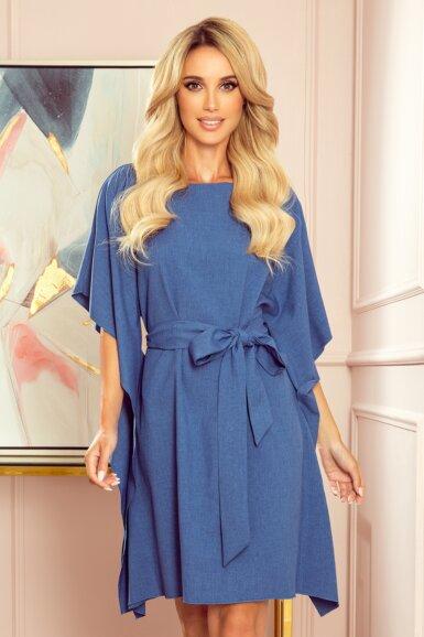 tunika-obleka-metulj-modra-2