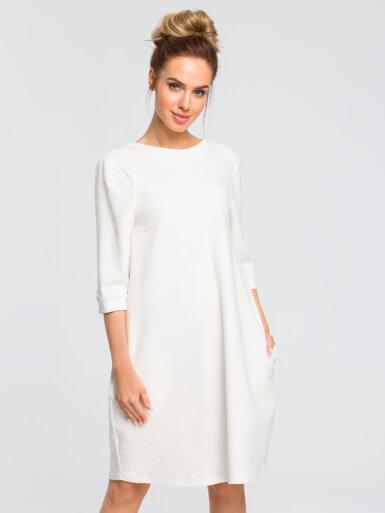 bombažna-obleka-na-balonček-bela