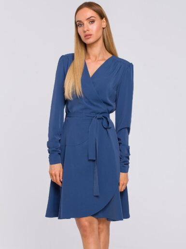 obleka-z-izgledom-na-preklop-modra