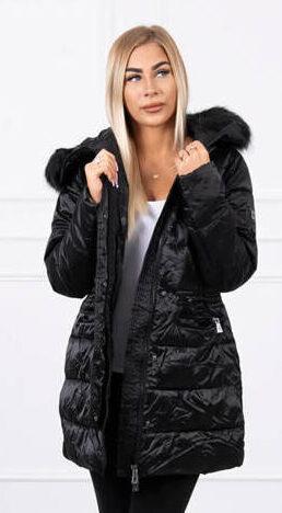 zimska-daljša-jakna-plašč-črna-s-kapuco-in-odstranljivim-krznom