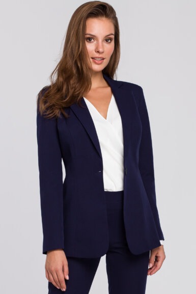 blazer-jakna-na-en-gumb-eleganten-temno-moder