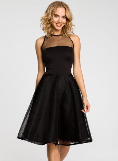 večerna-obleka-s-tilom-črna