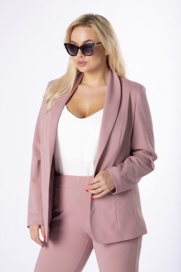 dvodelni-komplet-blazer-in-hlace-umazano-roza