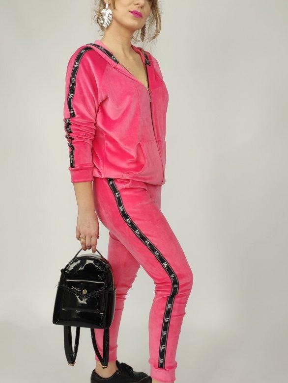 ženski-komplet-trenirka-na-zadrgo-s-kapuco-pliš-pink