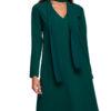 obleka-trapezna-s-salom-zelena